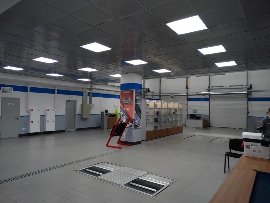 Офисный светодиодный светильник ССВ 41/4500/А40 (П) IP54
